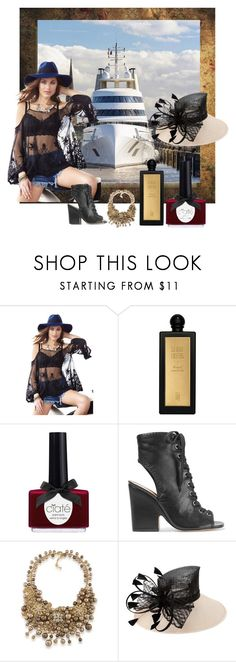 """""""Unbenannt #7493"""" by snowmoon ❤ liked on Polyvore featuring Serge Lutens, Ciaté, Schutz and Carolee"""