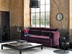 come non condividere un divano viola, anche se è piccolo