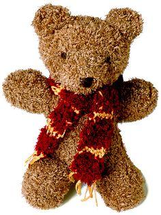 free - Ravelry: Harry Bear pattern by Berroco Design Team Teddy Bear Knitting Pattern, Animal Knitting Patterns, Knitted Teddy Bear, Doll Patterns, Teddy Bears, Knitted Dolls, Crochet Dolls, Yarn Dolls, Free Knitting