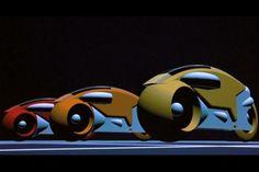 tron light cycle 1982 | Lightcycles aus Tron (1982)