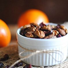 This delicious Orange Chipotle-Spiced Pecan Mix has a sweet and spicy flavor that is sure to impress your friends!