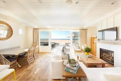 Modern Beachfront Cottage