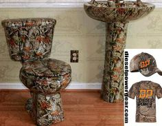 Now that's a man's bathroom right there!