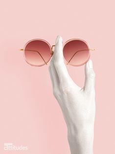 Lunettes Attitudes Magazine Printemps-Été 2018 : L'OR ROSE - Pink is not dead ! Premier magazine des Opticiens Indépendants de France ! #eyes #eyewear #fashion #tendances #glasses #lunettes #opticien #optician #optique #luz #luzoptique #magazine #webzine #pink