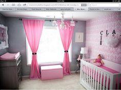 girl nursery idea