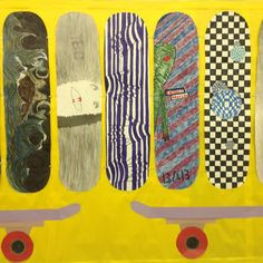 Skateboard Logo Design 8th Grade Artists
