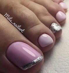 Lovely pink toe nail polish – My CMS Pink Toe Nails, Simple Toe Nails, Pretty Toe Nails, Toe Nail Color, Cute Toe Nails, Summer Toe Nails, Feet Nails, Toe Nail Art, My Nails