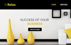 Relax-Interior-free-bootstrap-responsive-website