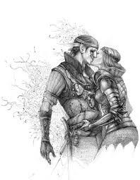 Iorveth and Saskia