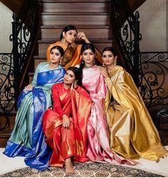 Grey Saree, Pic Pose, Indian Silk Sarees, Desi Wear, Kanjivaram Sarees, Saree Models, Gold Work, Saree Blouse, Indian Wear