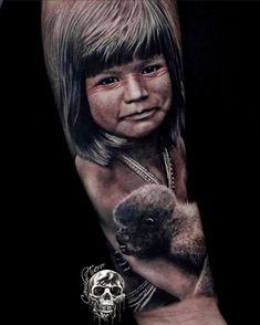 Tatuagem em realismo: encontre tatuadores agora! - Blog Tattoo2me Tattoo Images, Tattoo Photos, All Tattoos, Angel Tattoo Men, Big Tattoo, Lower Back Tattoos, Arm Band Tattoo, Picture Tattoos, Tattoo Drawings