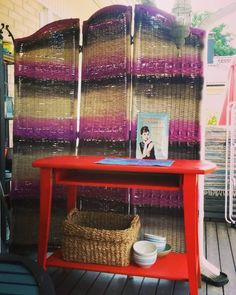 New colors <3 on my tiny porch