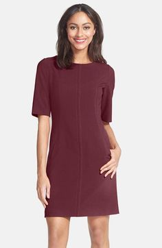 Tahari Seamed A-Line Dress (Regular & Petite) | Nordstrom $128