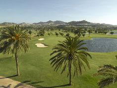 With three 18-hole championship courses designed by Seve Ballesteros, there are plenty of options for all year round playing. The South Course hosts regular tournament events, while the North and West courses pose diff erent kinds of challenges to committed or casual golfers alike.