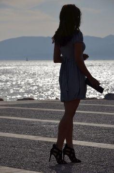 2014 yaz modası, bershka bag, çizgili desen, çizgili elbise, denizci stil, fashion blog, moda blogları, monokrom desen, mudo elbise, stil blogları, stripe dress, stripe fashion, style blogs, zara criss cross heels, zara criss cross sandals, zara heels
