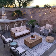 Looking for some ways to prepare your patio for summer? Then it is about time you installed these 9 summer patio essentials! Outdoor Patio Designs, Outdoor Decor, Small Backyard Design, Small Backyard Patio, Outdoor Patios, Outdoor Patio Decorating, Small Terrace, Deck Decorating, My Patio Design