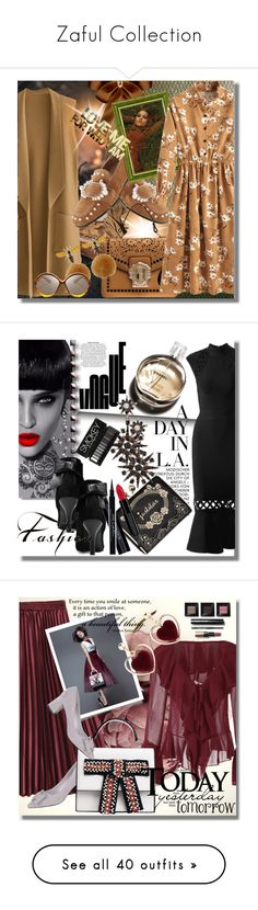 """""""Zaful Collection"""" by pesanjsp ❤ liked on Polyvore featuring Osborne & Little, Bobbi Brown Cosmetics, Chanel, Givenchy, modern, H&M, NYX, MAC Cosmetics, Deborah and Estée Lauder"""