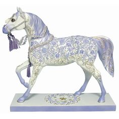 Painted Ponies Crystal  Horse Statue
