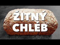 Celozrnný žitný chléb - YouTube Vegetarian Recipes, Healthy Recipes, Bread And Pastries, Craft Stick Crafts, Baked Potato, Muffin, Good Food, Food And Drink, Snacks