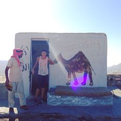 Posing with camel paintings in Jordan! Even being encouraged to pretend one was eating my arm by a local    #throwbackthursday #100happydays 86 #jordan #travel #adventure #comedy #seetheworld #giggles #rememberwhen