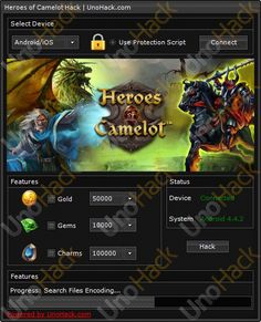 Heroes of Camelot Hack will allow you to add gold, gems and summon charms. Download today and enjoy game ! #heroesofcamelothack #heroesofcamelot