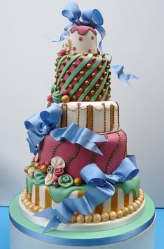 Weddingzilla: Unusual Wedding Cakes