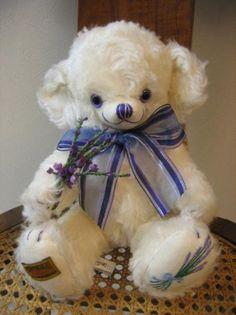 Cheeky Lavender Teddy Bears, Stuffed Animals, Lavender, Dolls, Friends, Cute, Teddy Bear, Childhood, Baby Dolls
