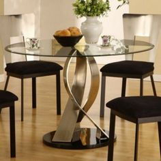 Glass Dining Room Tables sets