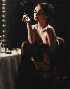 Fabian Perez art gallery, committed to offering great prices to the public. We specialize in Fabian Perez original paintings and limited edition prints. Fabian Perez, Pulp Art, Woman Painting, Erotic Art, Aesthetic Art, Figurative Art, Oeuvre D'art, Female Art, Pinup