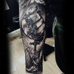 Lower Arm Tattoos, Forearm Sleeve Tattoos, Forearm Tattoo Design, Forearm Tattoos For Guys, Ankle Tattoo, Tattoos 3d, Bild Tattoos, Trendy Tattoos, Chicano Tattoos