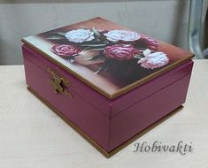 ♥♥ Hobi Vakti ♥♥: Takı Kutusu Decoupage Glass, Decoupage Box, Jewellery Boxes, Jewelry Box, Decopage, Felt Dolls, Christmas Printables, Origami, Decorative Boxes