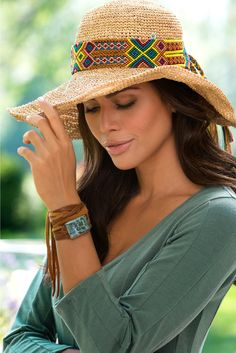 Our Meadow Wrap Bracelet doubles as a chic choker - two trendy looks in one!