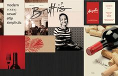 Brutti's - Website Redesign by Krista Hoffler, via Behance