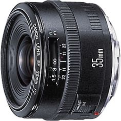 EF 35mm f/2 Wide-Angle Lens for Canon EOS DSLR Cameras