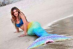 Rainbow Mermaid tail