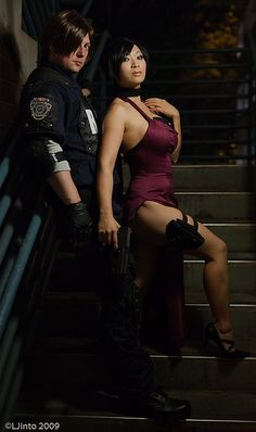 Resident Evil 4 - Leon and Ada - cosplay Cosplay Outfits, Cosplay Girls, Cosplay Costumes, Cosplay Anime, Best Cosplay, Awesome Cosplay, Leon S Kennedy, Ada Wong, Evil World