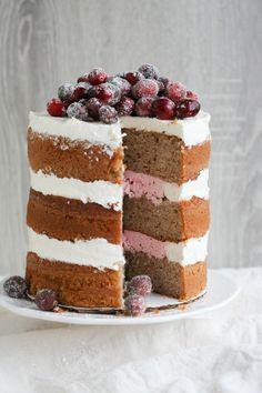 Cranberry Spice Cake