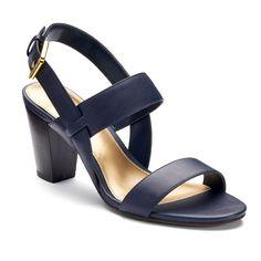 59a355e33e38 Chaps Leona Women s Block Heel Sandals