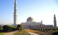Sultan Qaboos Mosche in Maskat, Oman