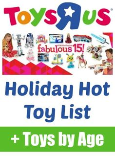 R Us Holiday Hot Toy List 36 Toys broken down by Age!Toys R Us Holiday Hot Toy List 36 Toys broken down by Age! Toddler Preschool, Toddler Toys, Kids Toys, Baby Toys, Toys R Us, Evolution, Us Holidays, Toy R, Fitness Gifts