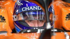 Fernando Alonso McLaren MCL33 qualifying at Australian Grand Prix, Melbourne - Saturday 24 March 2018