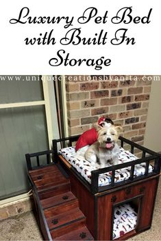 Luxury Pet Bed For The Dog That Has Everything.