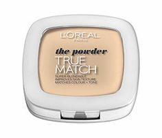 True Match Powder from Loreal. I use this everyday.