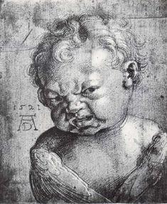 Albrecht Durer, Angelo piangente
