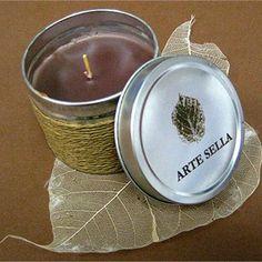 #natural #candle #artesella