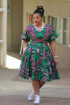 Ankara Xclusive: Beautiful Ankara African Print Style For Plus Size Ladies African Fashion Designers, African Fashion Ankara, Latest African Fashion Dresses, African Print Fashion, Africa Fashion, African Style, Indian Style, Short African Dresses, African Print Dresses