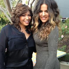 Khloe Kardashian's hair is the business!