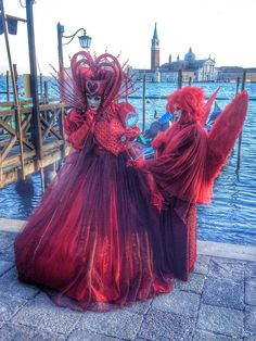 The reds have it...Carnival of Venice 2015 by Lunt Photography