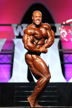 Phil Heath at the 2011 Olympia -- got to meet him the other night.... #starstruck so amazing!