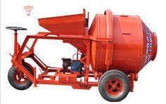 Máy trộn bê tông tự hành 1 bao - 450 lít